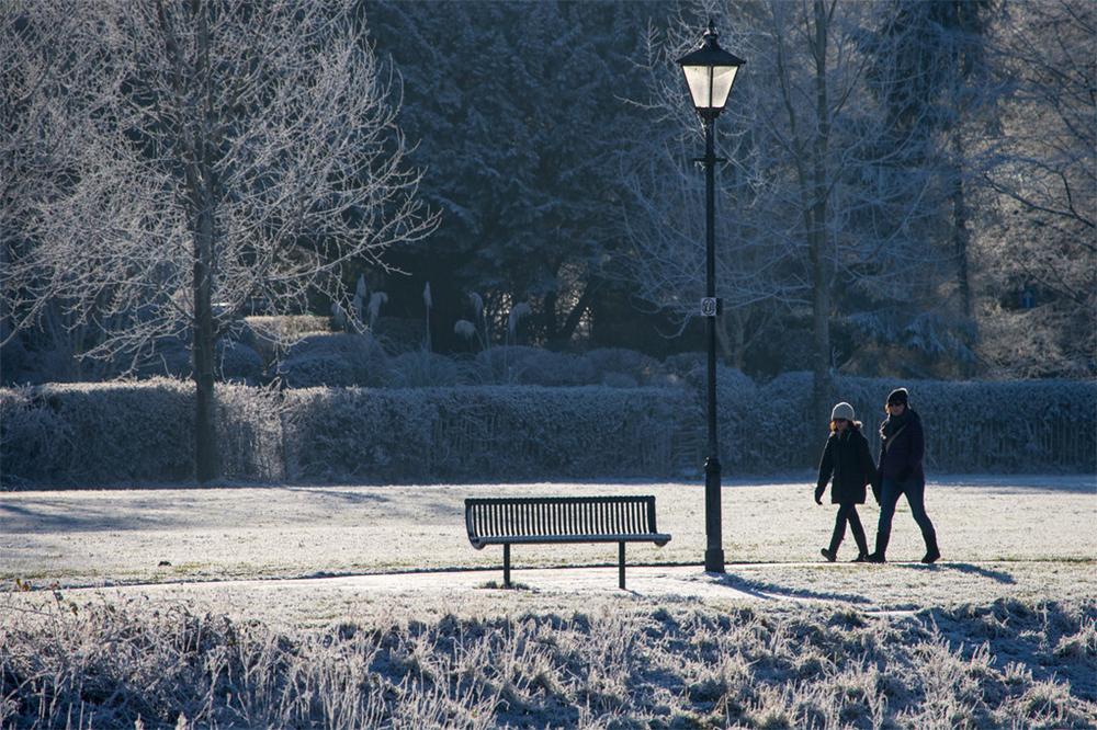 Riverside Kendal on a Winter Morning © David Pheasy