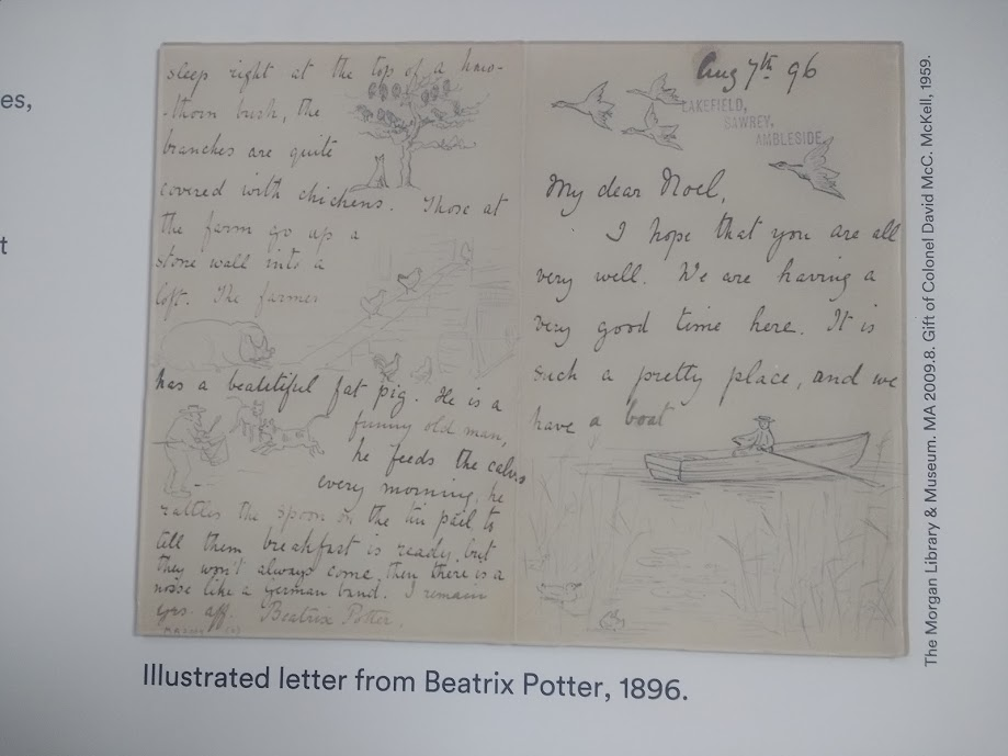 Messing about on the water - letter to Noel from Beatrix Potter