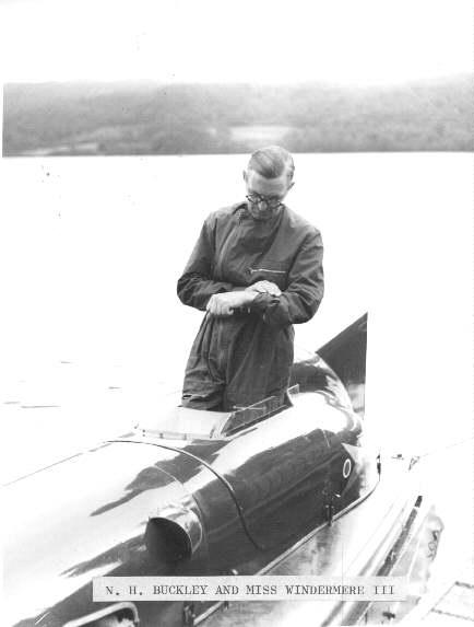 Norman Buckley MBE - Windermere