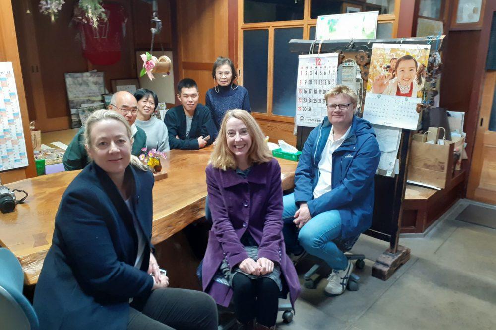 Kitchen reunion with the Kondo family