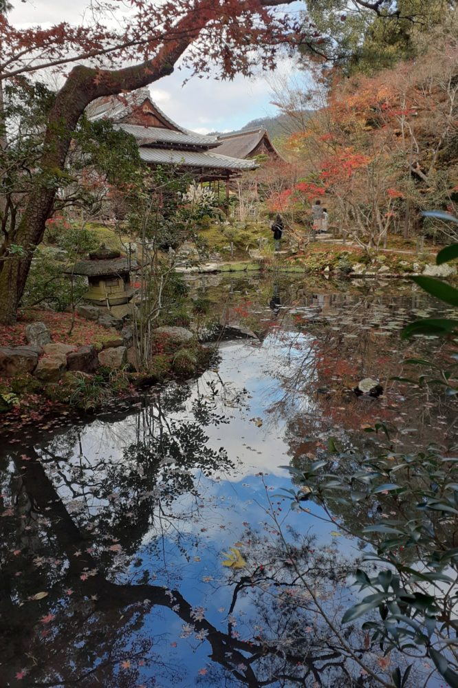 Reflections and reality at Nanzenji, Kyoto