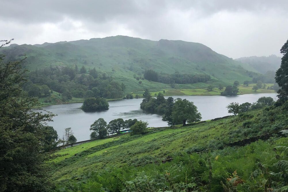 Rydal Water from the Coffin Route