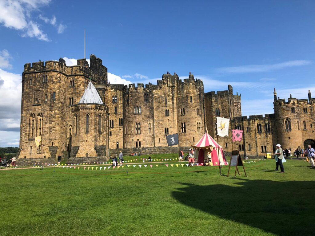 Alnwick Castle - that's Hogwarts to most of us