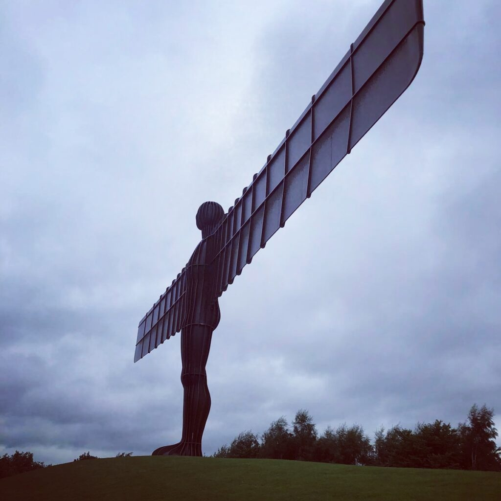 Angel of the North - commemorating what's lost and configuring hope