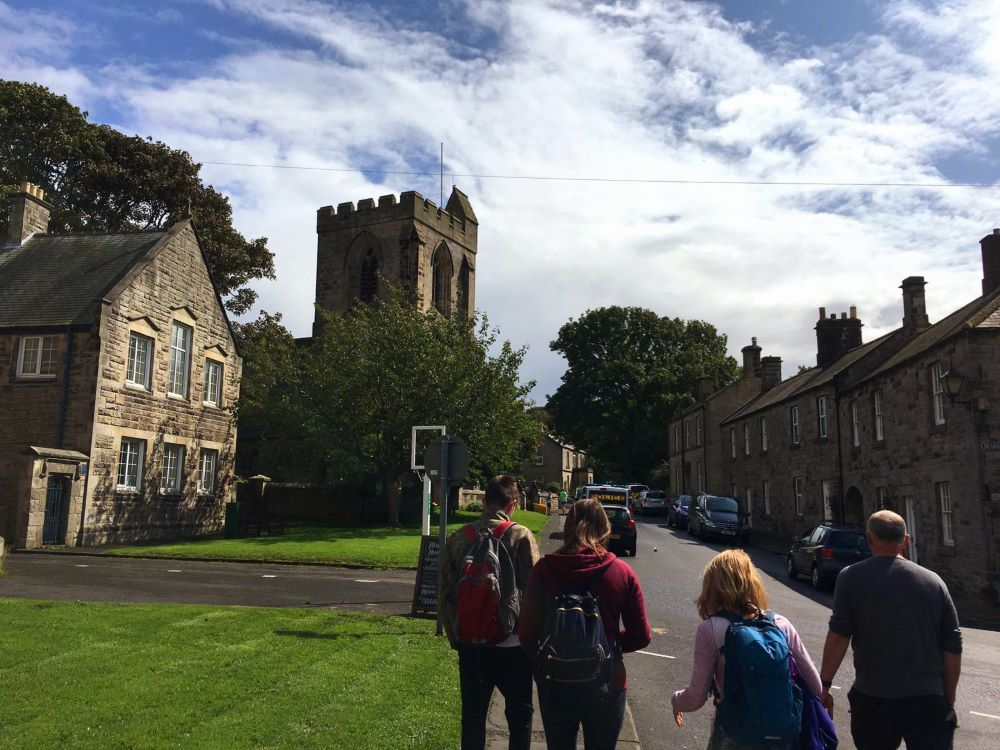 In Cartmel - spot the famous priory