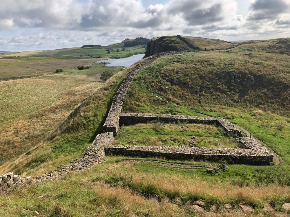 Ruined fort at Hadrian's Wall
