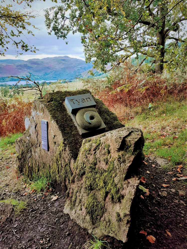 #2 of the Herdwick Stones on the Ullswater Way