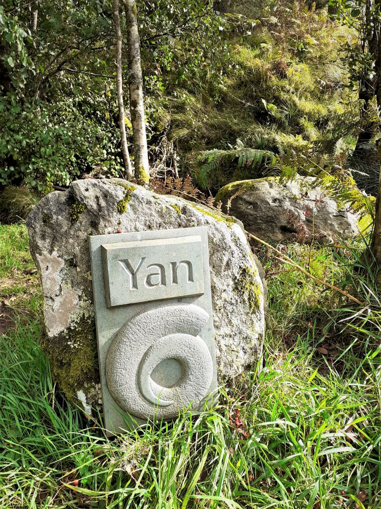 #1 of the Herdwick Stones on the Ullswater Way
