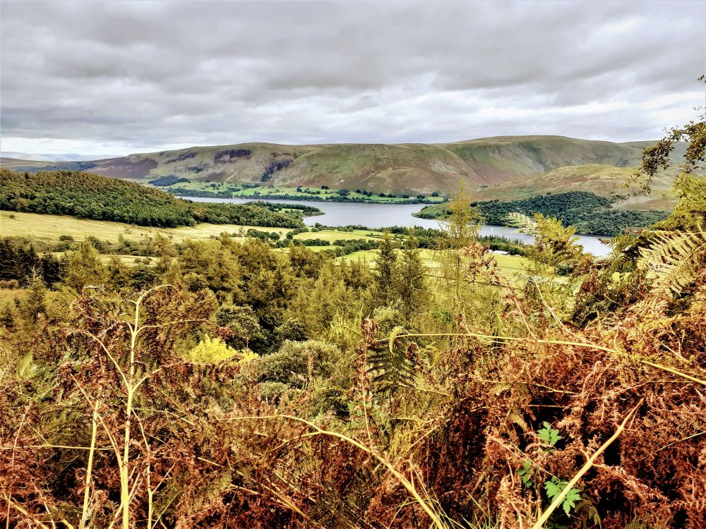 View of Ullswater from the Ullswater Way, Lake District