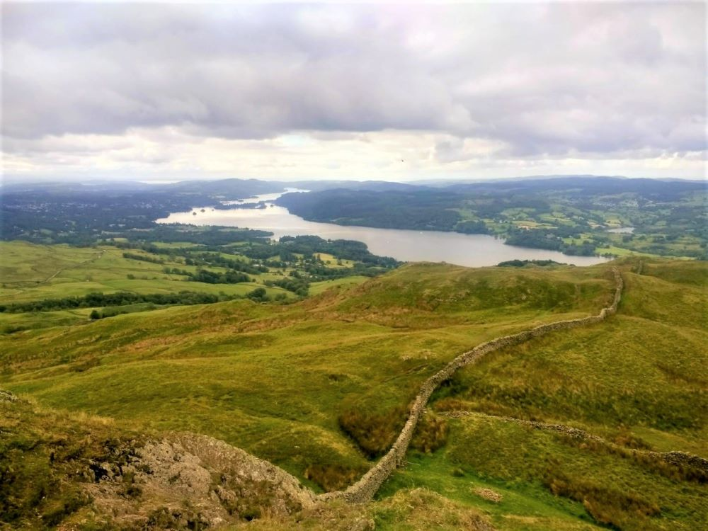 Windermere viewed from Wansfell